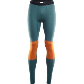 Aclima LightWool Reinforced Long Pants Herr tapestry/orange popsicle